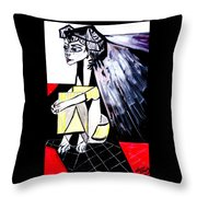 The Cape  Picasso Throw Pillow