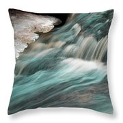 Rapids Throw Pillow