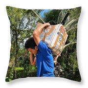 Roatan Life Throw Pillow
