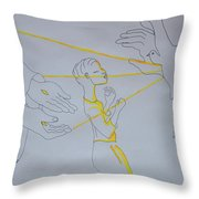 Slain In The Holy Spirit Throw Pillow