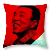 Smokey Robinson Collection Throw Pillow