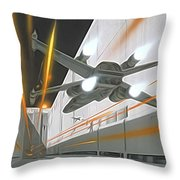 Star Wars Characters Poster Throw Pillow