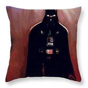 Star Wars Episode 5 Poster Throw Pillow