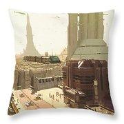 Star Wars Episode Art Throw Pillow