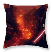 Star Wars Episode Poster Throw Pillow
