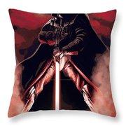 Star Wars Heroes Art Throw Pillow
