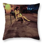 Tasha Holz Throw Pillow