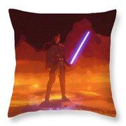 The Star Wars Art Throw Pillow