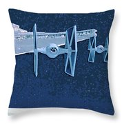 Trilogy Star Wars Poster Throw Pillow