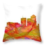 Tucson Arizona Skyline Throw Pillow