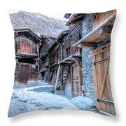 Zermatt - Switzerland Throw Pillow