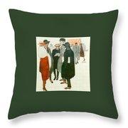 12264 Rafael De Penagos Throw Pillow