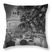 Charleston Spooky Throw Pillow