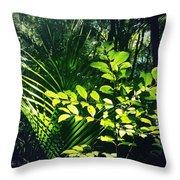 Jungle 123 Throw Pillow