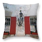 Pirates Anchorage Throw Pillow