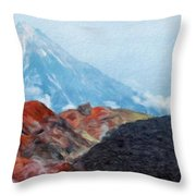 Landscape Paintings Canvas Prints Nature Art  Throw Pillow