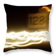 128 Throw Pillow