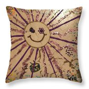 12th Day Of Christmas Throw Pillow