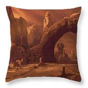 A Star Wars Art Throw Pillow