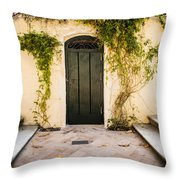 Alcazar Of Seville - Seville Spain Throw Pillow