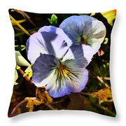 Body Heat Throw Pillow