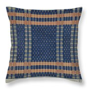 Coverlet Throw Pillow