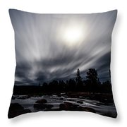 Elkton River Throw Pillow