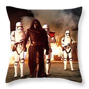 Empire Star Wars Poster Throw Pillow