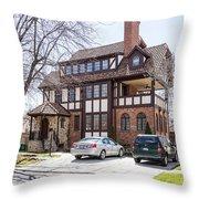 Forest Hills Gardens Throw Pillow
