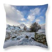 Glencoe - Scotland Throw Pillow