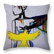Hope For Peace In South Sudan Throw Pillow
