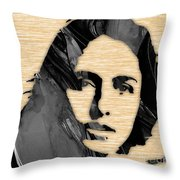Joan Baez Collection Throw Pillow