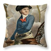 John Paul Jones, 1747-1792 Throw Pillow