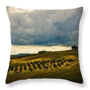 Landscape Planting Throw Pillow