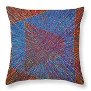 Mobius Band Throw Pillow