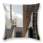 New York Throw Pillow by Juergen Held