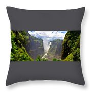 Oil Paintings Landscapes Throw Pillow