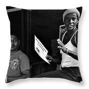 Roatan Life Throw Pillow