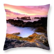 Scenery Oil Paintings On Canvas Throw Pillow
