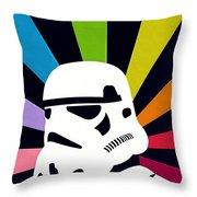 Star Wars Episode 2 Art Throw Pillow