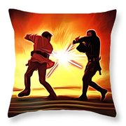 Star Wars Old Art Throw Pillow