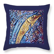 Swordfish Throw Pillow