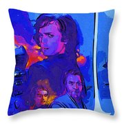 Trilogy Star Wars Art Throw Pillow