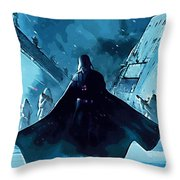Video Star Wars Poster Throw Pillow