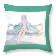 Vocaloid Throw Pillow