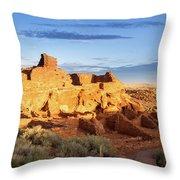 Wupatki National Monument Throw Pillow