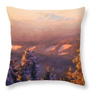 Oil Paintings Art Landscape Nature Throw Pillow