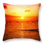 Nature Landscape Nature Throw Pillow