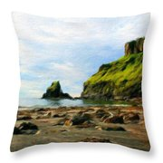 Landscape Nature Art Throw Pillow