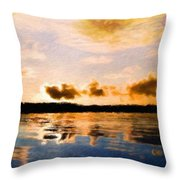 Nature Landscape Jobs Throw Pillow